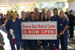 SWMC Dan and nurses best shot Opening Oct 30 2015